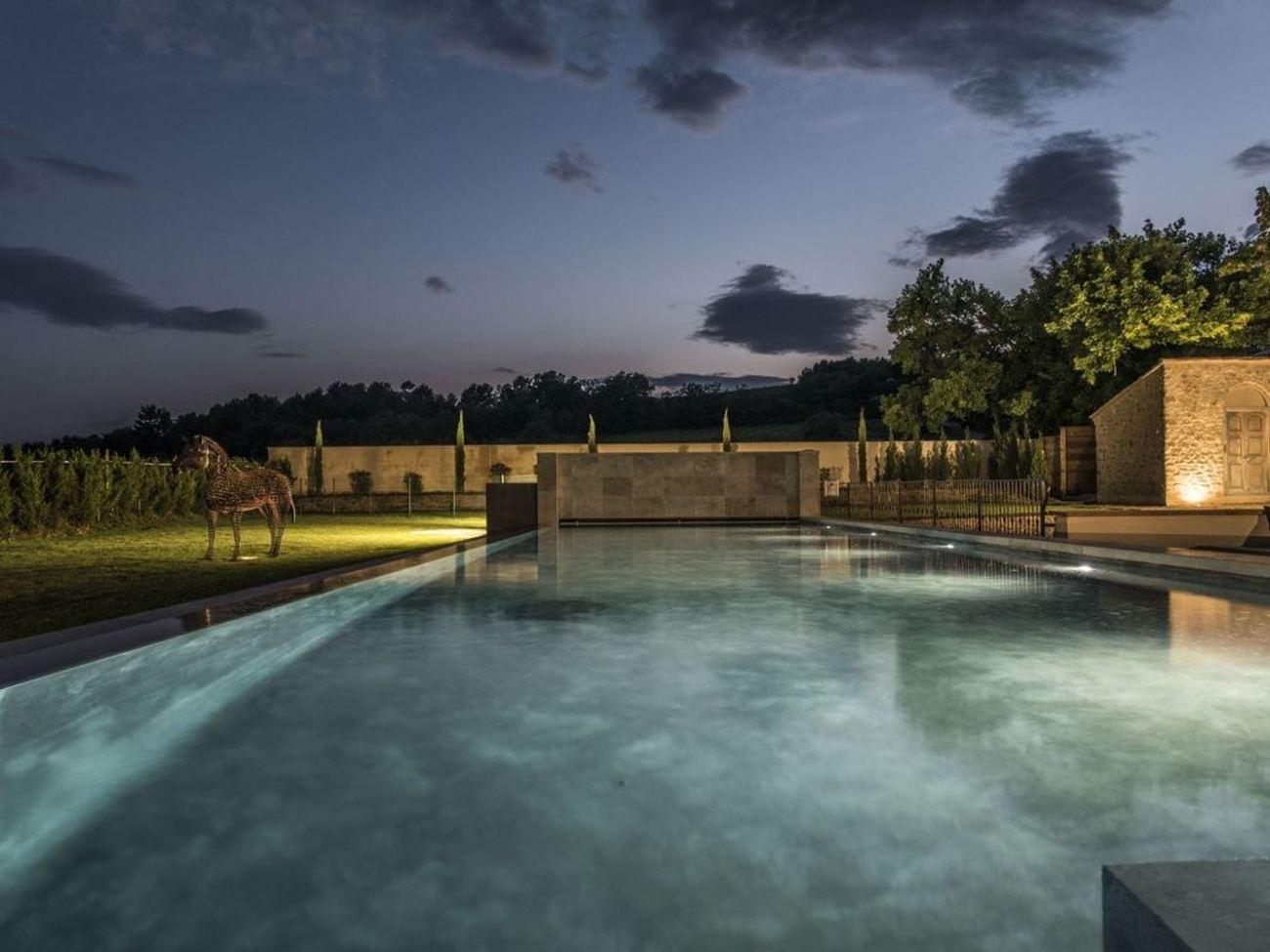 pool provence